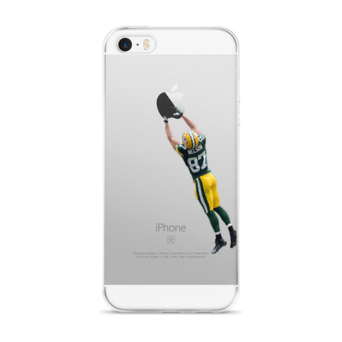 Jordy Nelson Inspired iPhone 5/5s/Se, 6/6s, 6/6s Plus Case