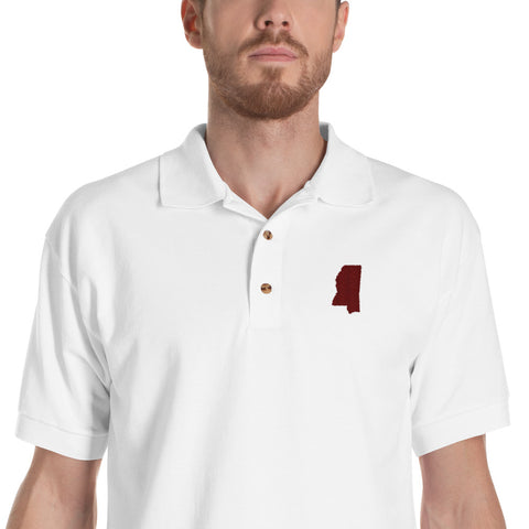 Mississippi State inspired Polo