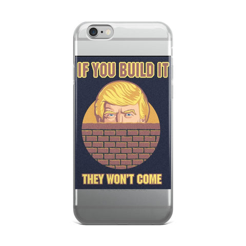 Donald Trump The Wall iPhone case