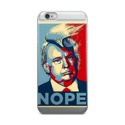 Donald Trump Nope iPhone case