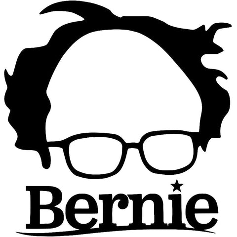 Bernie Sanders 15.2x16cm Vinyl Car Decal