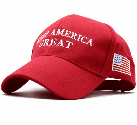 Keep America Great Again Donald Trump Re-Election Hat Embroidery USA Flag MAGA New Cap Cotton Baseball Hat cap