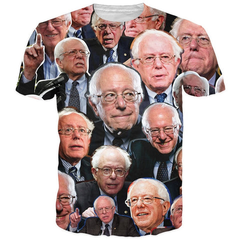 Bernie Sanders  All Over Tee