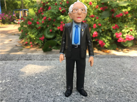 "Bernie Sanders 5"" Action Figure Doll Real Life America Political Collection Fun Toys New No Package"