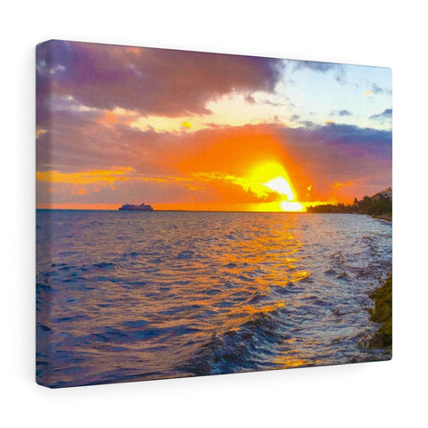 Sunset In Key West Canvas