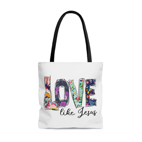 Love Like Jesus Tote Bag