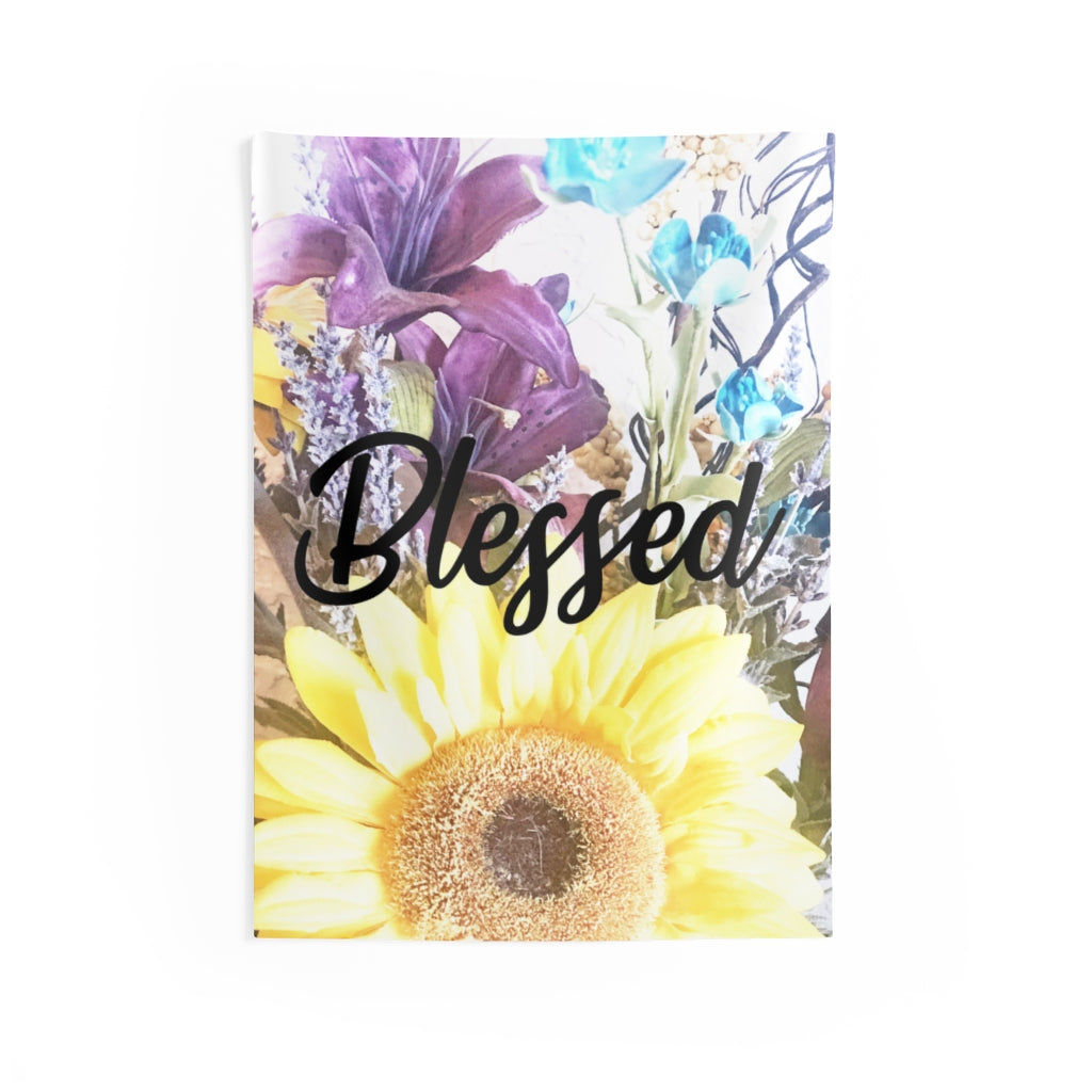 Blessed Indoor Wall Tapestries