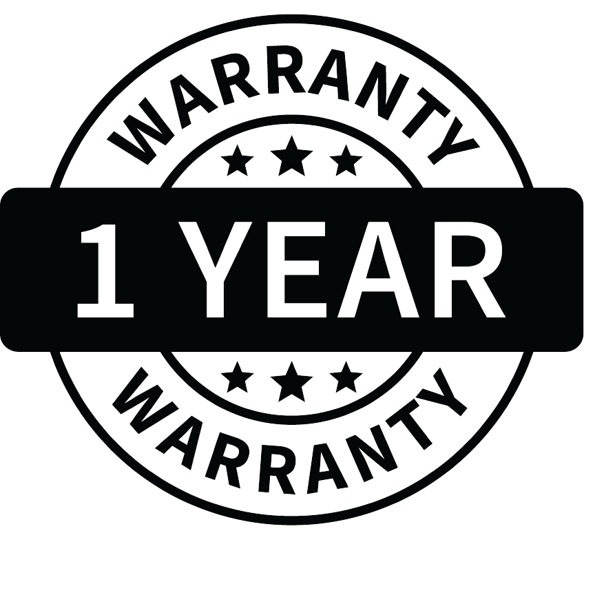 anseris one year warranty on all products