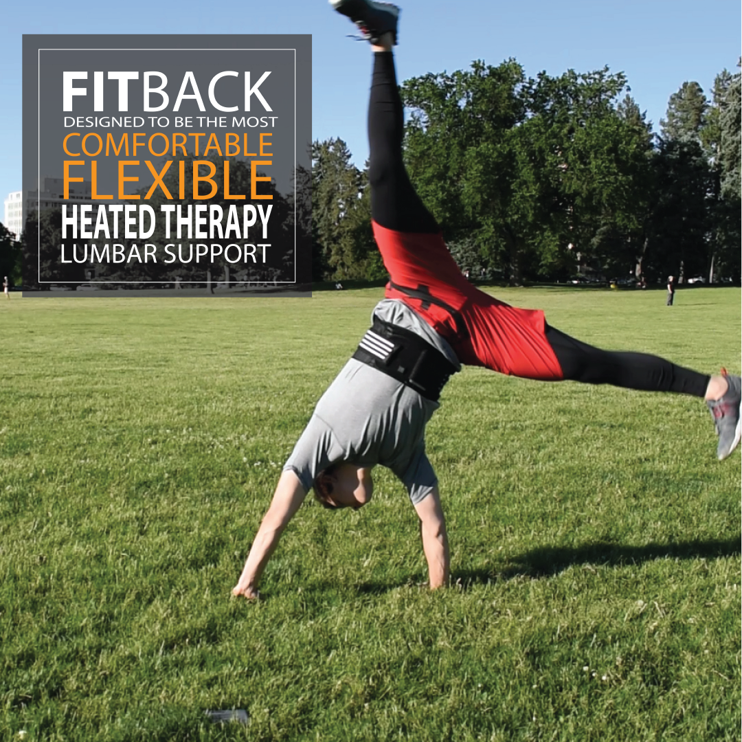 fitback is constructed out of flexible materials that are thin and comfortable and allow movements that do not contribute to low back pain