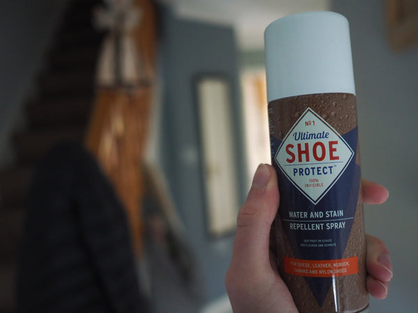 Keeping your shoes water resistant spray