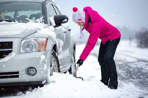 heated clothing benefits scraping car in cold