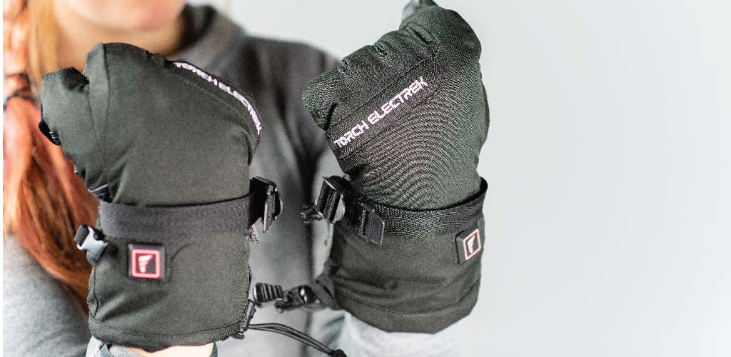battery powered heated gloves for skiing and snowboarding to keep fingers warm, rated the best heated gloves