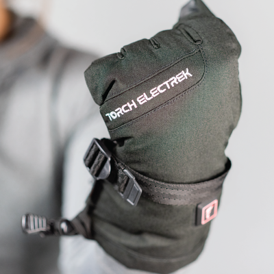 heated ski glove and heated snowboard glove