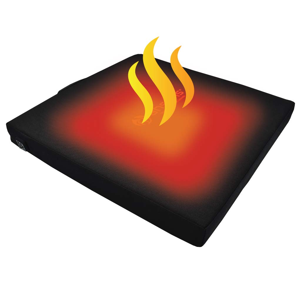 Battery Powered Heated Bleacher Seat Cushion