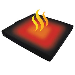 the new battery powered heated bleacher seat cushion by anseris heated clothing makes sitting in the cold at sporting event comfortable