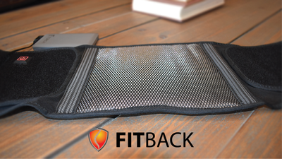 FITBACK- Heat + Support Performance Back Brace