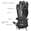heated gloves 2 winter battery operated heated gloves are the warmest gloves in cold weather