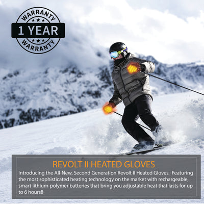 winter battery operated heated gloves are the warmest gloves in cold weather for skiing and snowboarding