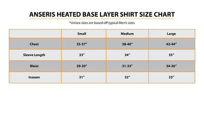 Anseris Heated Base Layer Shirt