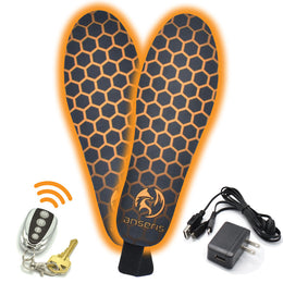 these heated insoles are made of thin and flexible materials that provide comfort and support.  they fit in any shoe or boot.  use for hunting, snowboarding, skiing, running, hiking or for everyday use