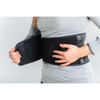heated back brace lumbar support belt for low back pain relief in sciatica and degenerative disc disease