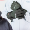heated ski glove, battery powered rechargeable full hand heating for warm hands to protect against cold hands