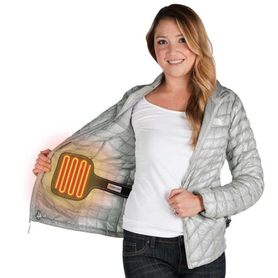 The torch coat heater is the diy heated jacket that transforms your jacket into an electric battery powered heated jacket.  Fits in men and women jackets to keep warm in the cold winter.