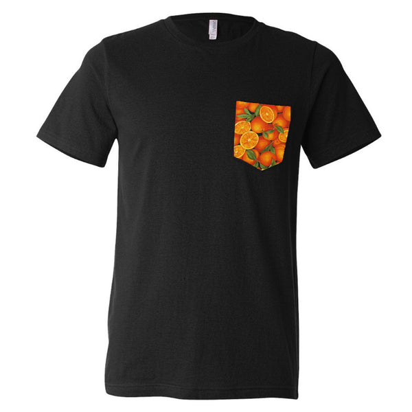 Fresh Oranges Pocket Tee (FREE US SHIPPING)