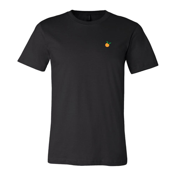 Orange Logo Black Tee (FREE US SHIPPING)