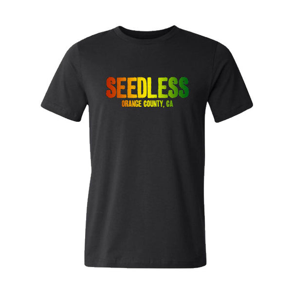 Seedless Red Gold & Green Tee