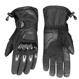 Glaze Men's Motorcycle Thinsulate Winter Waterproof Biker Windproof Gloves