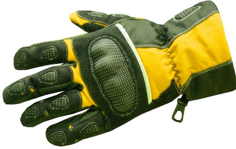 NEW MENS MOTORCYCLE GLOVES RAIN REFLECTIVE GEAR Yellow