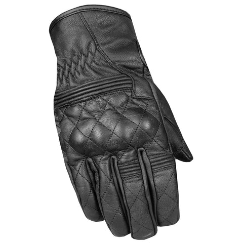 Men's Flexible Genuine Leather High Quality Motorcycle Biker Gel Gloves