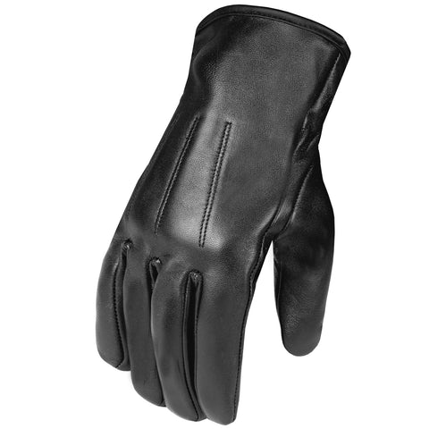 Men's Genuine Premium Leather Winter Driving Dress Warm Thermal Liner Gloves