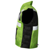 VT MOTORCYCLE GREEN REFLECTIVE VISIBILITY BASE VEST