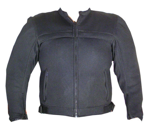 MESH MOTORCYCLE JACKET RAIN WATERPROOF LINER BLACK