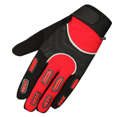 NEW MOTOCROSS MOTORCYCLE BIKE DIRT NEW RED GLOVES