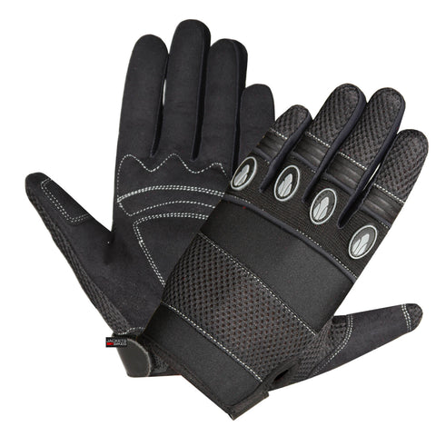 NEW MOTOCROSS MOTORCYCLE BIKE DIRT BLACK GLOVES
