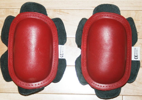 New Motorcycle Pants Knee Sliders  Strong Pucks Red CE