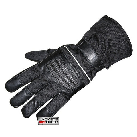 NEW S13 BIKER MOTORCYCLE MEN LEATHER CORDURA GLOVES