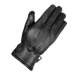 Premium Lambskin Mens Driving Dress Gloves Thinsulate lined Black