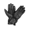 New Leather Motorcycle Riding Gloves Biker Thinsulate Full Black