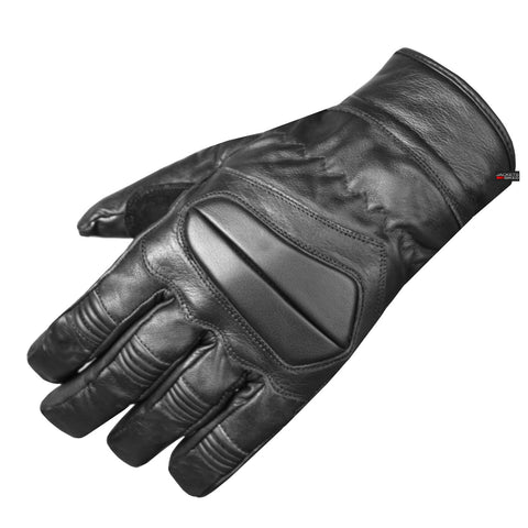 New Leather Gloves Motorcycle Driving Cycling Biking Tactical Black