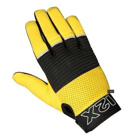 TCG1 NEW MOTORCYCLE CAR MECHANIC WORK GLOVES YELLOW
