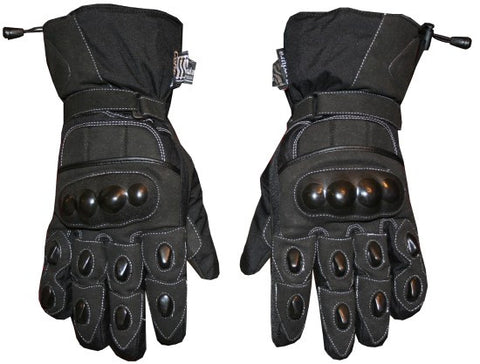 NEW MENS MOTORCYCLE BIKE RIDING GLOVES BLACK