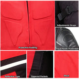 NEW PRO MESH MOTORCYCLE JACKET RAIN WATERPROOF RED