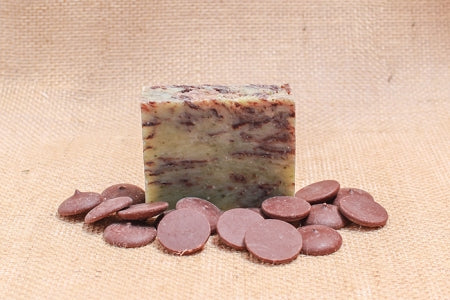 Mint Chocolate Swirl Bath Soap