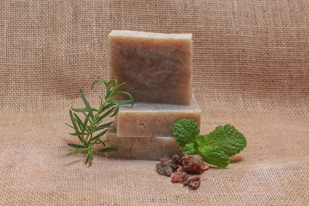Rosemary, Frank and Mint Bath Soap