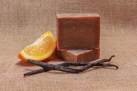 Orange Vanilla Bath Soap