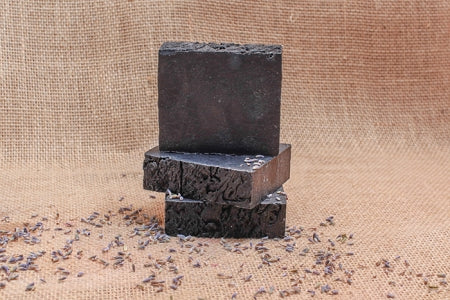 Lavender with Activated Charcoal Bath Soap
